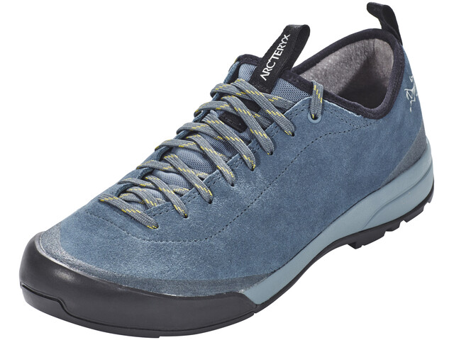 Arc'teryx M's Acrux SL Leather Approach Shoes Neptune/Everglade